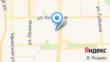 Башинформсвязь, ПАО на карте