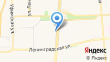 Магазин разливных напитков на карте