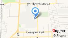 Юрматы на карте