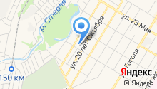 Альфина на карте