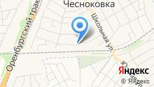 Эксперт в Чесноковке на карте