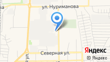 Шиномонтажная мастерская на ул. Чапаева на карте