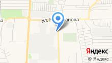 Газпром газораспределение Уфа на карте
