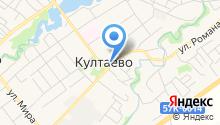 Пермское лесничество, ГКУ на карте