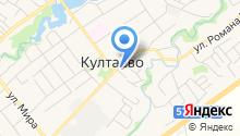 Почтовое отделение с. Култаево на карте