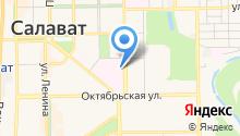 Салаватский городской родильный дом на карте