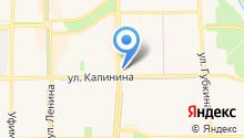 Салита на карте