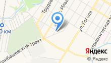 А-салют, служба доставки салютов на карте