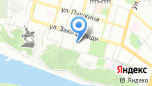 Alan-print на карте
