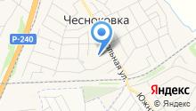 Чесноковский детский дом для детей-сирот и детей, оставшихся без попечения родителей на карте