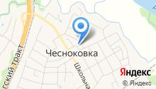 Чесноковская врачебная амбулатория на карте