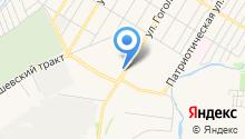 Банкофф на карте