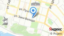 Башкирский государственный медицинский университет на карте