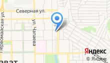 Территориальный отдел управления Роспотребнадзора по Республике Башкортостан в г. Салавате и Ишимбайском районе на карте