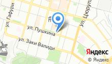 Театральное на карте