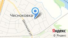 Продовольственный магазин на ул. Калинина на карте