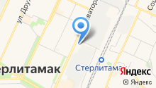 Toyota-Центр Стерлитамак на карте
