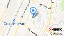 Средняя общеобразовательная школа №34 на карте