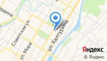 Администрация муниципального района Стерлитамакский район Республики Башкортостан на карте