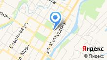 Арбитражный управляющий Абулханов И.Б. на карте