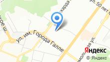 Магазин автозапчастей для иномарок на ул. Братьев Кадомцевых на карте