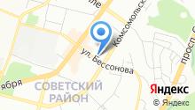 Уральский Кадастровый Центр на карте