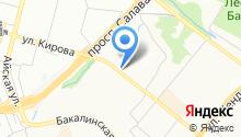 Стекло Люкс Уфа на карте