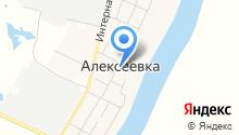 Алексеевская сельская модельная библиотека на карте