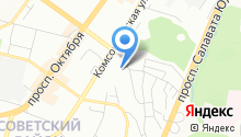 AutoVAG-Ufa на карте