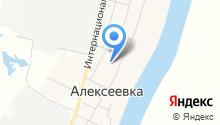 Средняя общеобразовательная школа д. Алексеевка на карте
