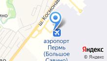 Большое Савино на карте