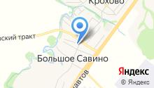 Пермское объединенное потребительское общество на карте