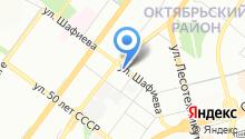 Пожарно-спасательная часть №57 Октябрьского района на карте