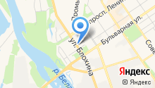 Ишимбайская, ФГБУ на карте