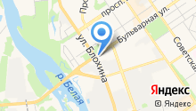 InterService на карте