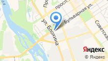 Тэмле на карте