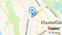 ИшимбайЖилСтрой на карте