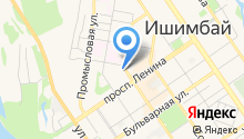 Отдел МВД России по Ишимбайскому району на карте