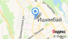 Башкирское СРСУ ПР на карте