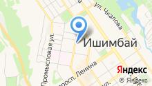 Башкирское СРСУ ПР, ЗАО на карте