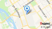Центр крепежа на карте