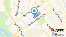 Городская библиотека №9 на карте