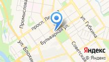 Гаражно-строительный кооператив №1 на карте