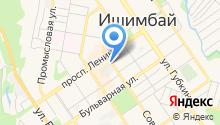 Ишимбайская чулочная фабрика на карте