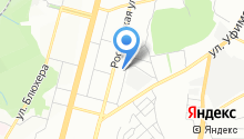 Поисково-спасательный отряд на карте