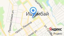 Администрация муниципального района Ишимбайский район Республики Башкортостан на карте