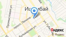 Отдел Военного комиссариата Республики Башкортостан по г. Ишимбай и Ишимбайскому району на карте