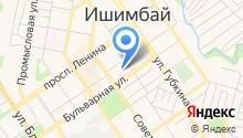 Башкирская гимназия-интернат №2 им. Ахметзаки Валиди с дошкольным отделением на карте