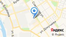 Производственно-торговая фирма на карте