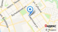 Мировые судьи по Ишимбайскому району и г. Ишимбай на карте